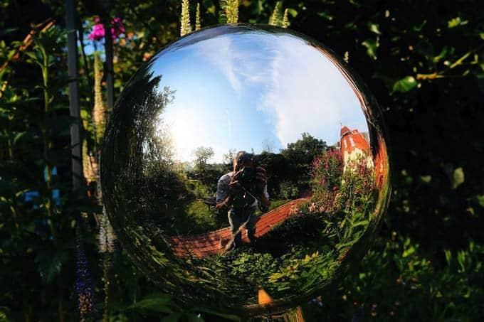 Decorative Garden Mirror