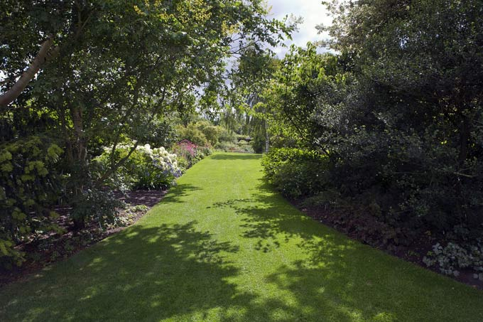 Garden at RHS Hyde Hall