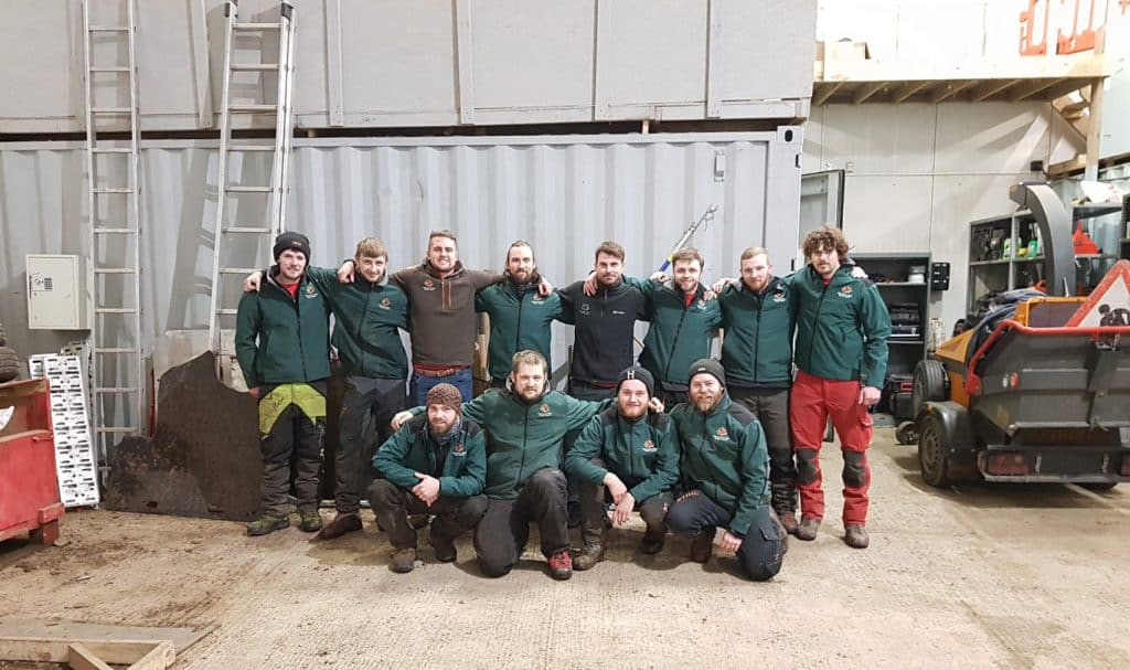 Climbers Way Tree Care 2018 Team