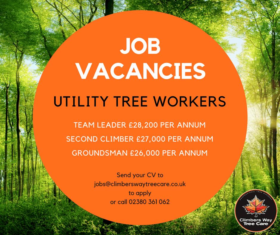 Utility Tree Worker Job Advert