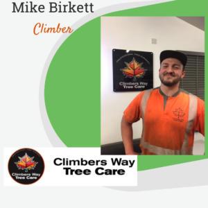 Mike Birkett - Climber