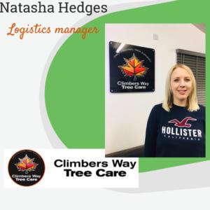 Natasha Hedges - Logistics